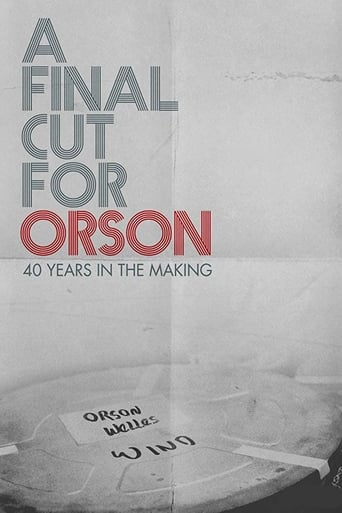 Poster of A Final Cut for Orson: 40 Years in the Making