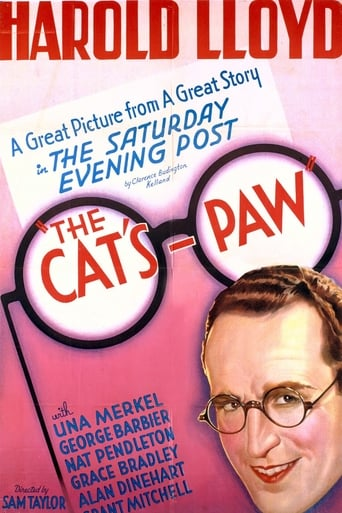 The Cat's-Paw Movie Poster