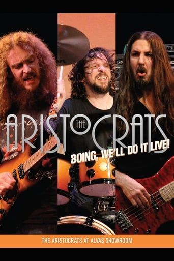 Poster of The Aristocrats - Boing, We'll Do It Live!