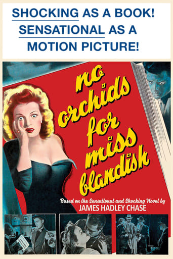 Poster of No Orchids for Miss Blandish