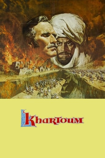 Khartoum (1966) - poster