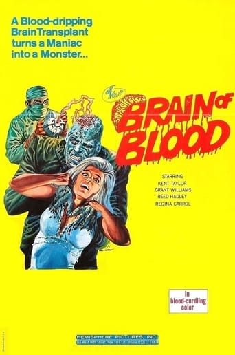 Poster of Brain of Blood