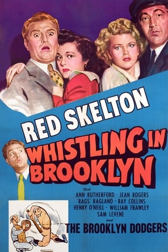 Poster of Whistling in Brooklyn