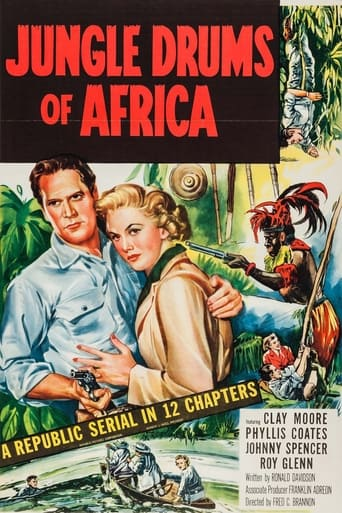 Poster of Jungle Drums of Africa
