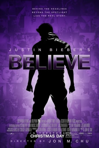 Justin Bieber's Believe (2013) - poster