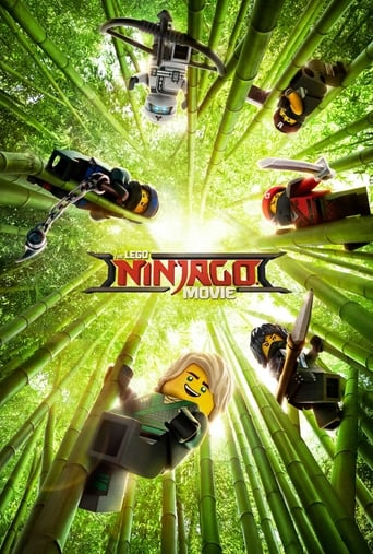 Official movie poster for The LEGO Ninjago Movie (2017)