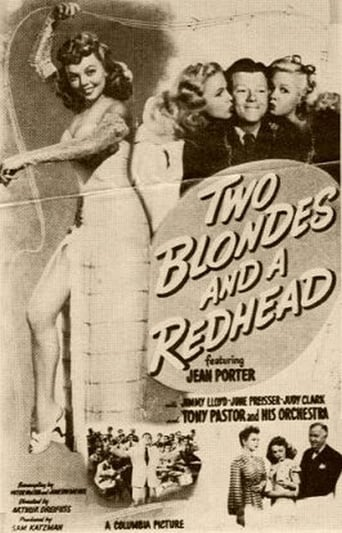 Poster of Two Blondes and a Redhead