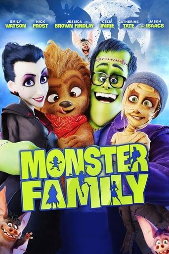 Monstrų šeimynėlė / Monster Family (2017)