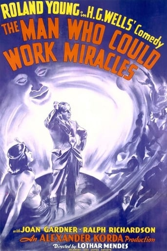 Poster of The Man Who Could Work Miracles