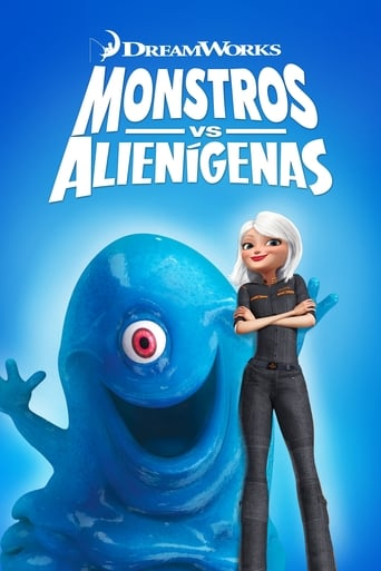 Monstros vs. Alienígenas - Poster