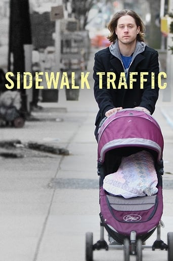 Poster of Sidewalk Traffic