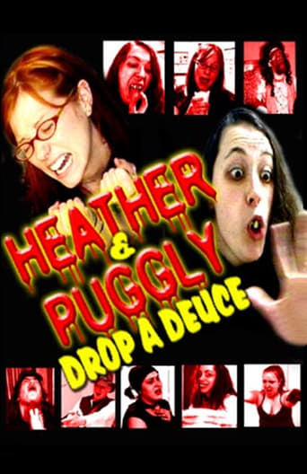Poster of Heather and Puggly Drop a Deuce