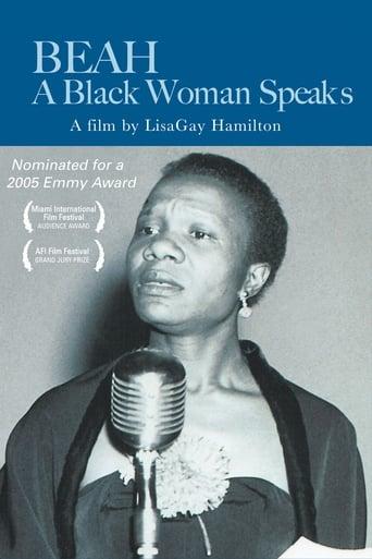 Poster of Beah: A Black Woman Speaks
