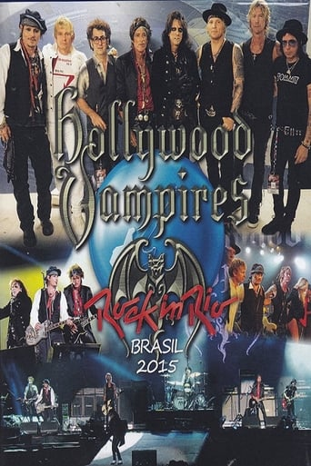 Poster of Hollywood Vampires: Rock in Rio 2015