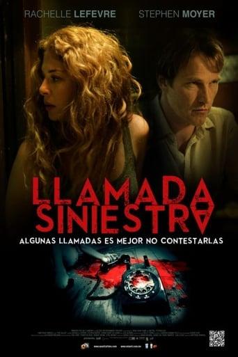 Poster of Llamada Siniestra