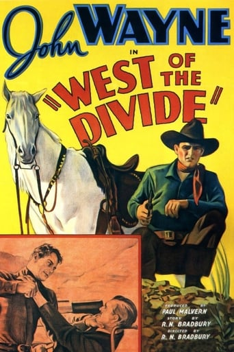 Poster of West of the Divide