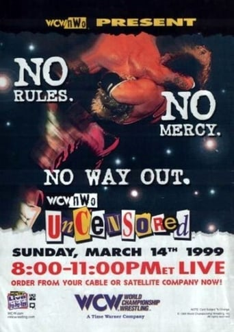 Poster of WCW Uncensored 1999