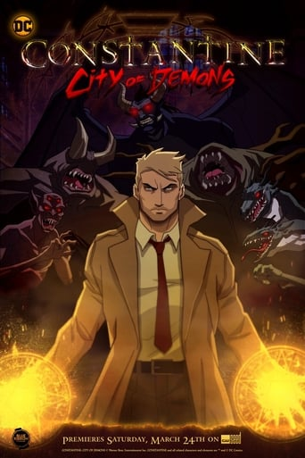 Poster of Constantine: City of Demons