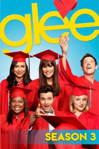 Glee Em Busca da Fama 3ª Temporada - Poster