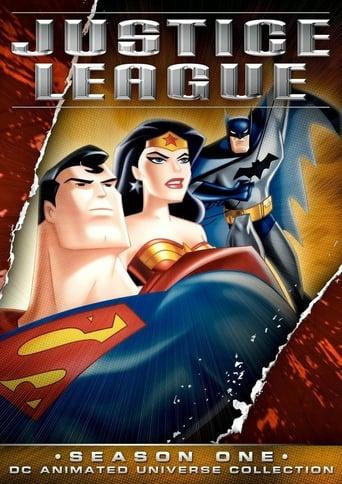Liga da Justiça 1ª Temporada - Poster