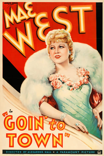 Poster of Goin' to Town