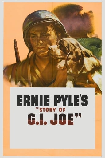 Poster of Ernie Pyle's Story of G.I. Joe