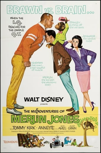Poster of The Misadventures of Merlin Jones