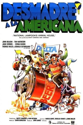 Poster of Desmadre a la americana
