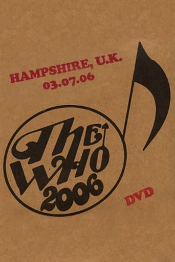 The Who: Hampshire 7/3/2006