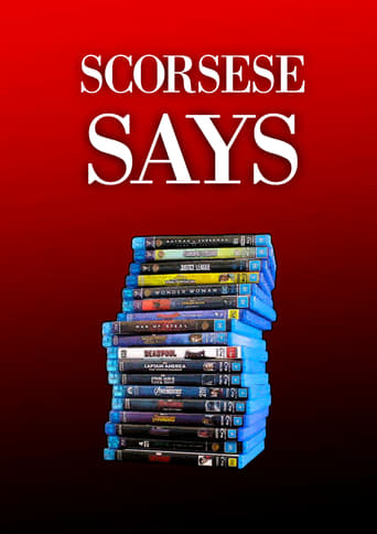 Scorsese Says