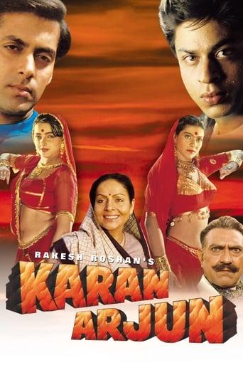 Poster of Karan Arjun