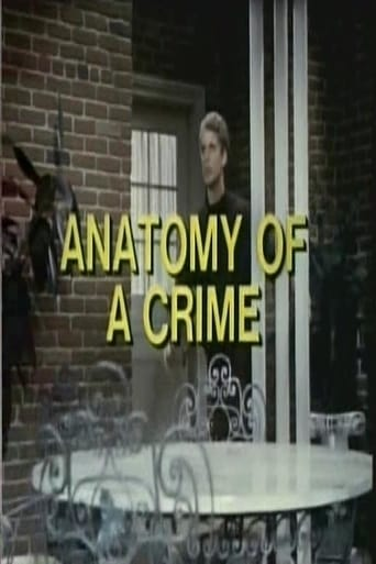 Poster of Anatomy of a Crime