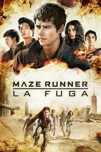Poster of Maze Runner - La fuga