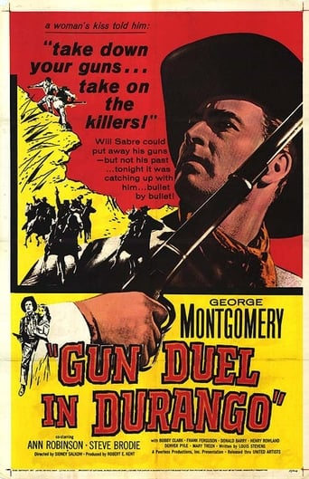 Poster of Gun Duel In Durango