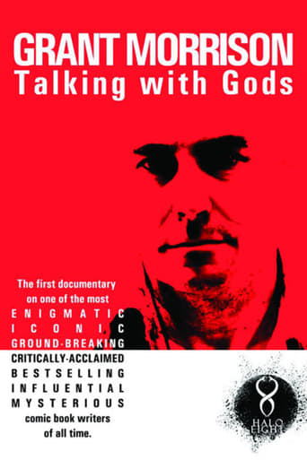Poster of Grant Morrison:  Talking with Gods