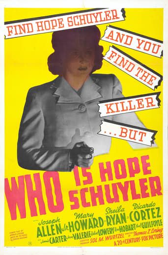 Watch Who Is Hope Schuyler? Online Free Putlocker