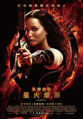 Poster of 饑餓遊戲2:星火燎原