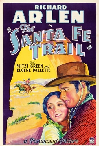 Poster of The Santa Fe Trail