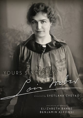Poster of Yours Sincerely, Lois Weber