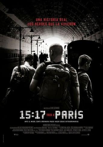 Poster of 15:17 Tren a París