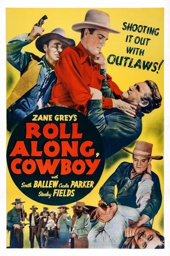 Poster of Roll Along, Cowboy