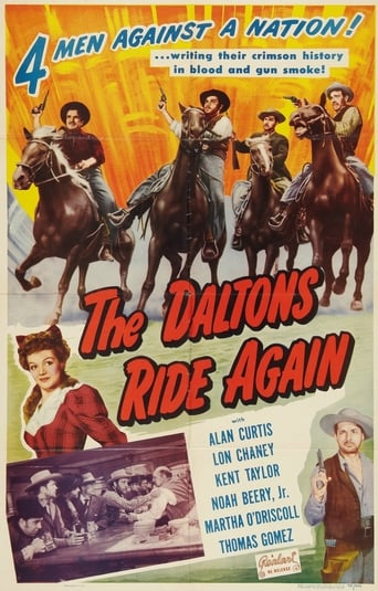 Poster of The Daltons Ride Again