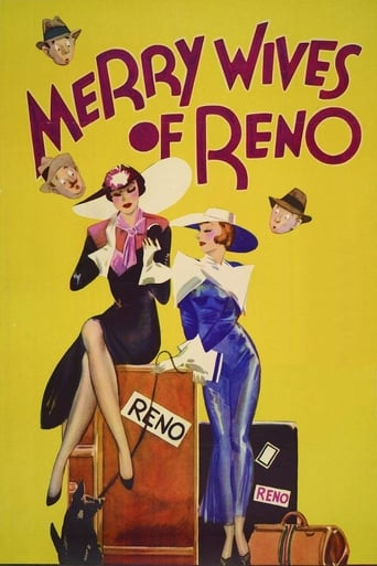 Poster of Merry Wives of Reno