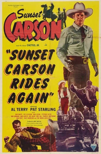 Poster of Sunset Carson Rides Again