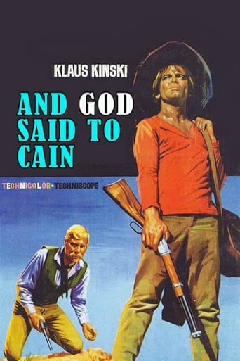 Poster of And God Said to Cain