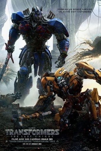 Poster of Transformers : The Last Knight