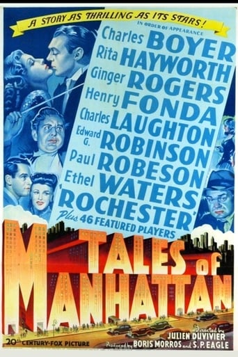 Poster of Tales of Manhattan