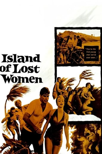 Poster of Island of Lost Women