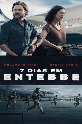 7 Dias em Entebbe - Poster