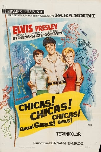 Poster of ¡Chicas! ¡Chicas! ¡Chicas!